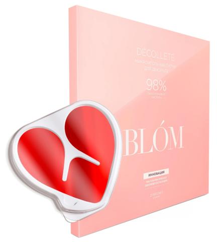 Микроигольные патчи для декольте BLOM Décolleté 2 шт