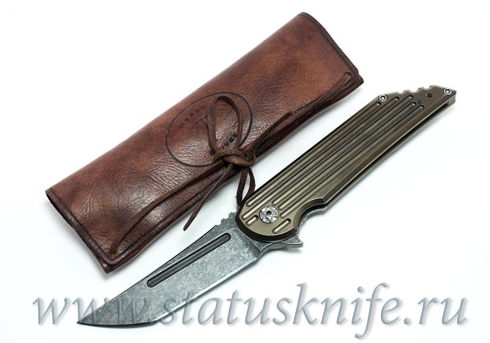 "Нож Custom Kwaiback ""Senshi No Uma"" Hoback / Alphahunter 1 из 1"