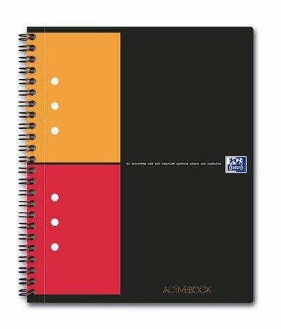 Бизнес-тетрадь International ActiveBook A5+ (17.8*21см) клетка 80л пластиковая обложка
