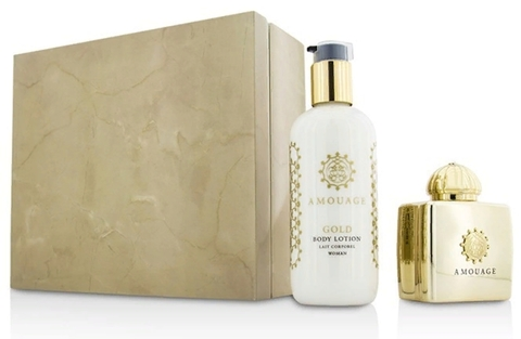 Amouage Gold woman Lady (Парфюмированная вода 100 мл + Лосьон для тела 300 мл)