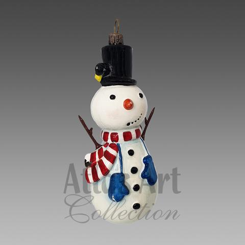 Снеговик руки палки