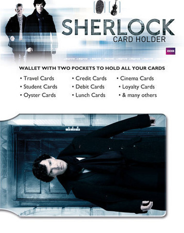 Визитница Sherlock