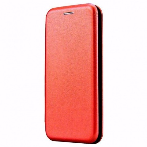 Чехол-книжка Fashion Case для Xiaomi Redmi Note 9, красный
