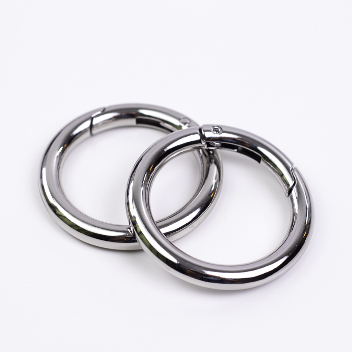 "Цвет ""Никель"" Карабин-кольцо 31мм широкий серебро IMG_8268.jpg"