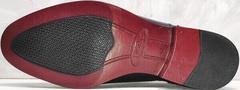 Модельные туфли мужские осень Ikoc 3805-4 Ash Blue Leather.