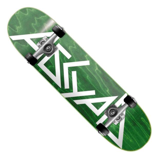 Скейтборд АБСУРД Logo (Green)