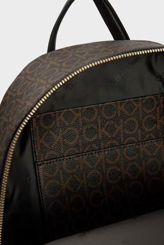 Женский коричневый рюкзак CK MUST CAMPUS Calvin Klein