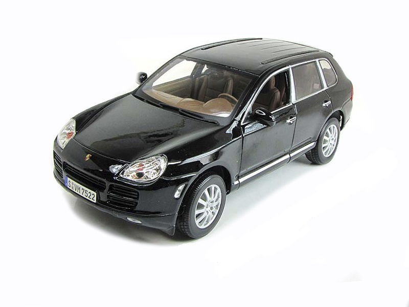 Коллекционная модель Porsche Cayenne S 2008 Black