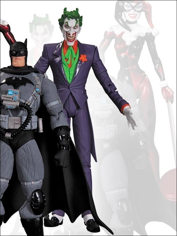 Batman Hush Three Pack Series 01