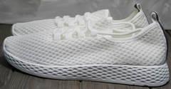 Женские стильные кроссовки Small Swan NB283-2 All White.