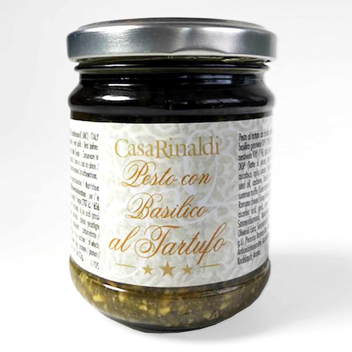 Крем-паста песто Генуя в оливковом масле с трюфелем