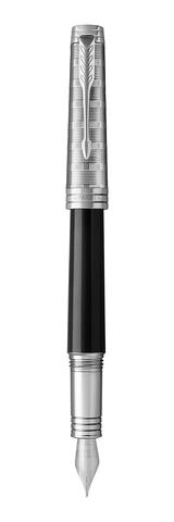 *Перьевая ручка Parker Premier  Castom Tartan, F561, Black PT, перо: F123