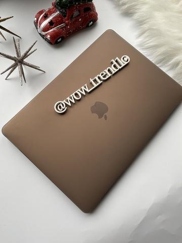 Накладка пластик MacBook Air 13.3 /matte gray/ DDC