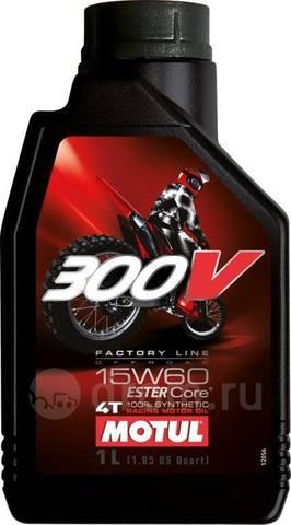Моторное масло Motul 300V Factory LINE OFF ROAD 15W60 1L