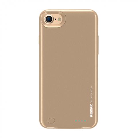 Remax / Чехол аккумулятор iPhone 7   2400 mAh золото