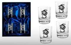 Подарочный набор стаканов для виски «Дракон», фото 1