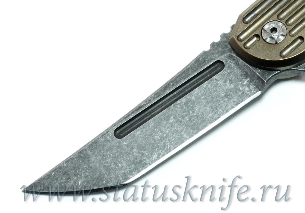 "Нож Custom Kwaiback ""Senshi No Uma"" Hoback / Alphahunter 1 из 1 - фотография"