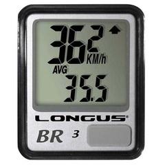 Велокомпьютер LONGUS BR-3, серый (проводной)
