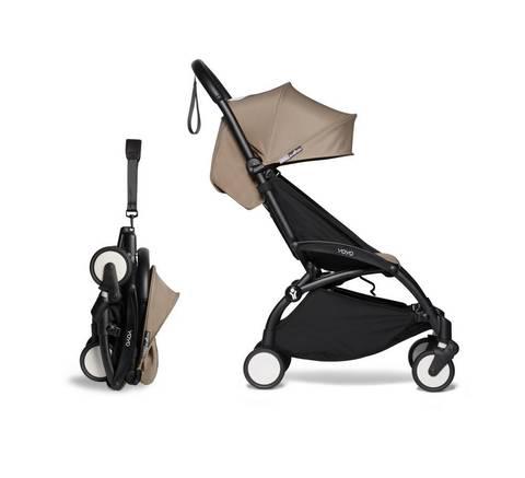 Прогулочная коляска Babyzen  Yoyo 2 Black frame Taupe