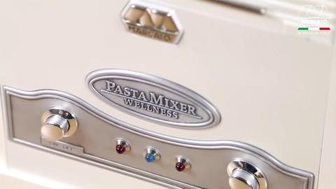 Купить тестомес электрический Pasta Mixer в Москве, интернет магазин ГуруВкусальзования: панель управления, фото