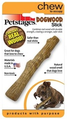 Игрушка для собак Petstages Dogwood палочка деревянная 13 см очень маленькая