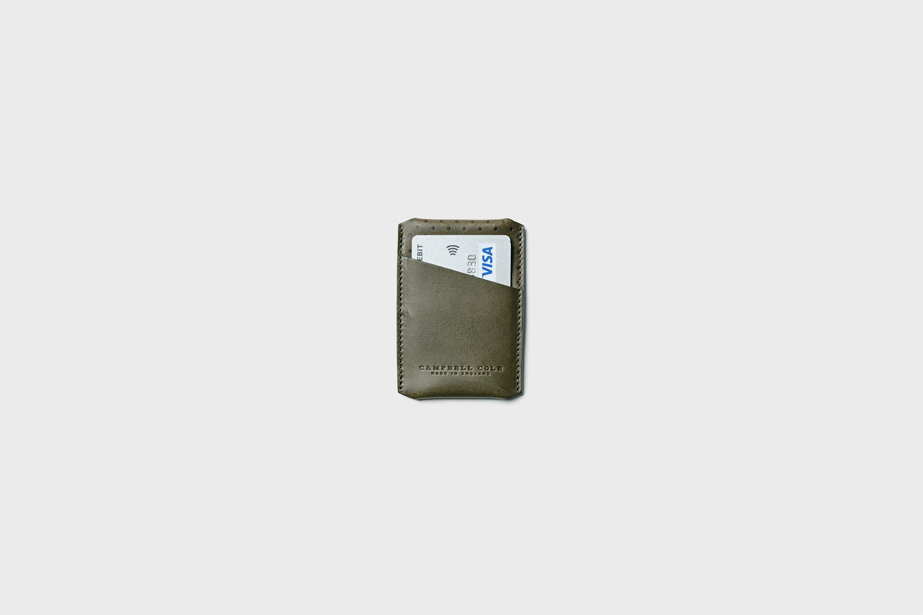 Campbell Cole Кардхолдер Simple Card Holder Khaki
