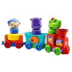 Fisher Price Развивающая игрушка Обучающий поезд
