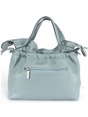 Синяя сумка стиля Casual