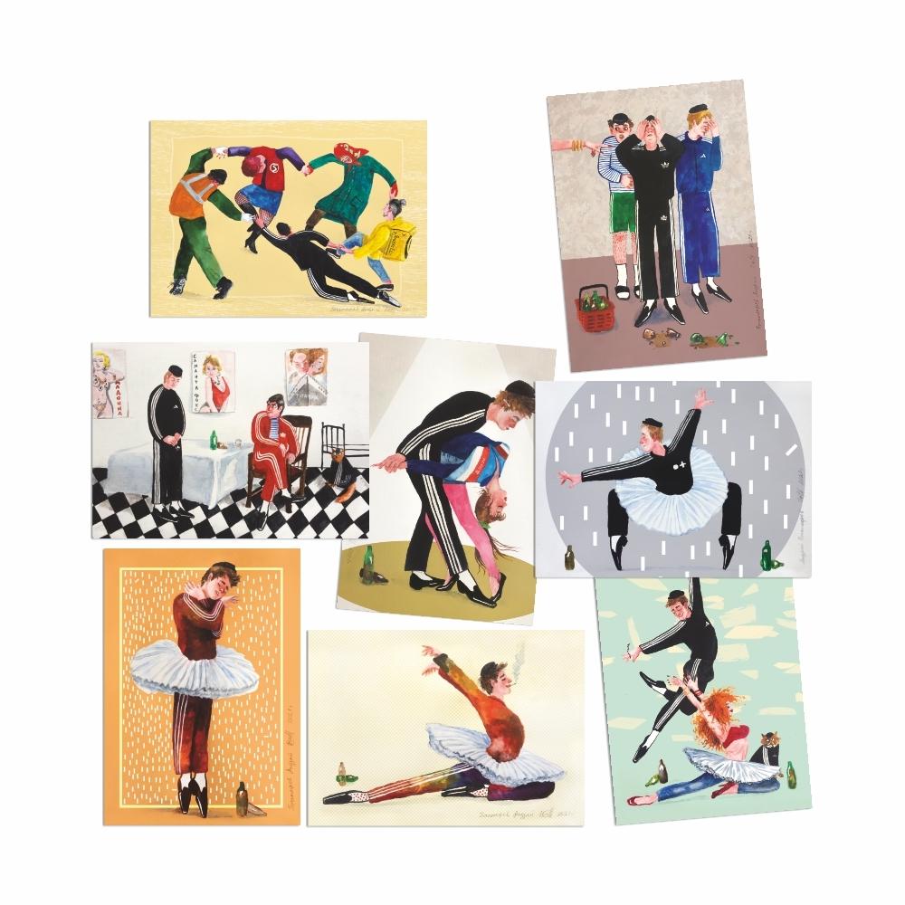 А. Богатырев. Набор почтовых открыток