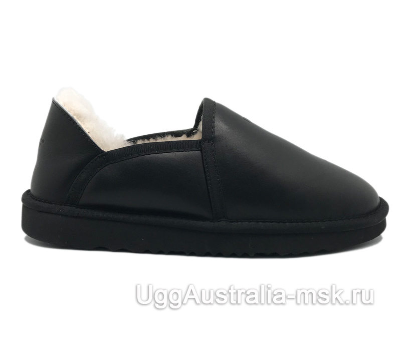 UGG Slipper Kenton Metallic Black
