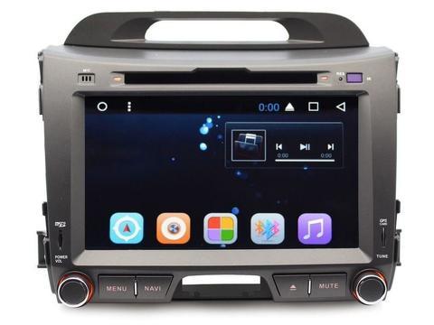Магнитола Kia Sportage 2010-2015 Android 8.1  модель GF-8201A