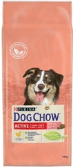 Сухой корм для взрослых активных собак, Purina Dog Chow Adult Active, с курицей