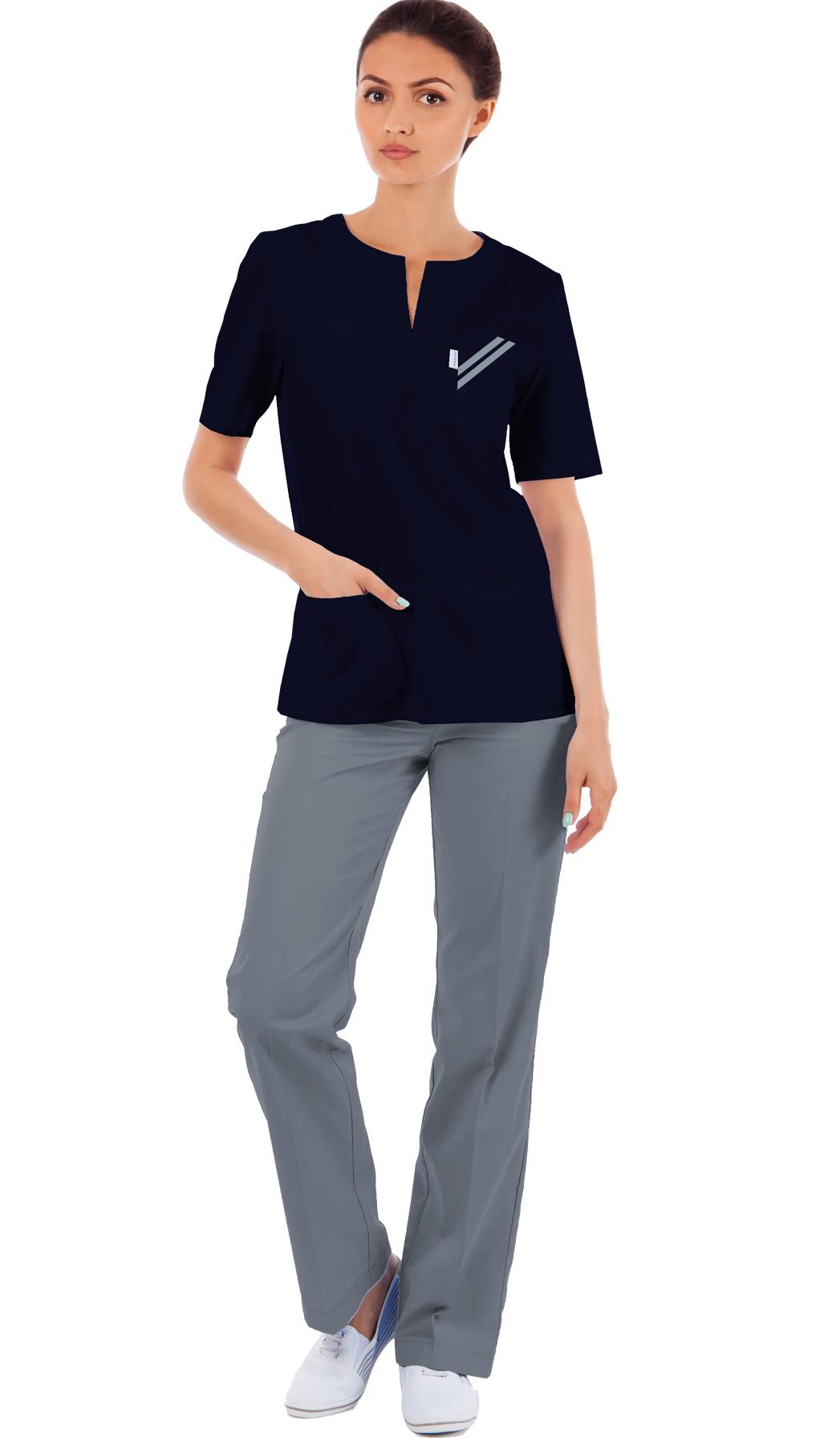 Блуза женская медицинская М 65-п