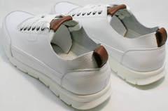 Кроссовки для ходьбы по городу мужские белые Faber 193909-3 White.