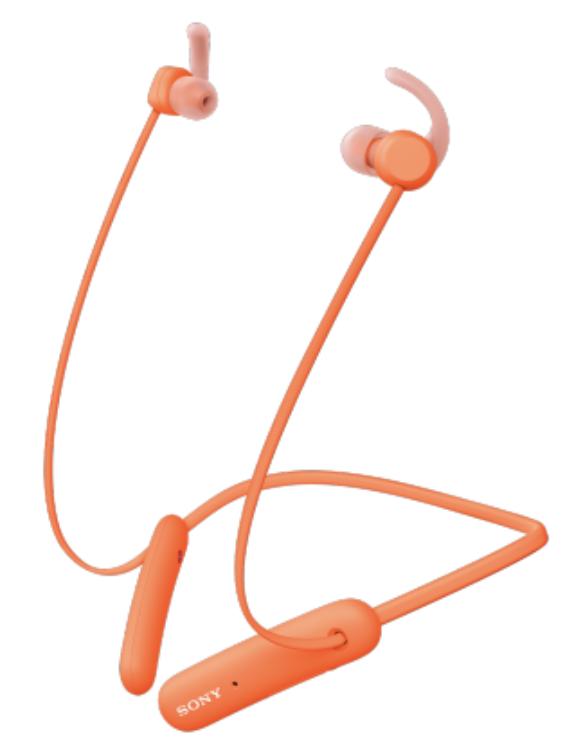 Наушники Sony WI-SP510D оранжевого цвета купить в Sony Centre Воронеж