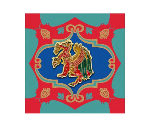 Значок металлический Сказки: Змей Горыныч