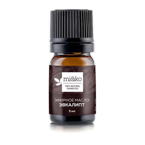 Эфирное масло Эвкалипт шаровидный 5 мл, органик (Mi&ko)