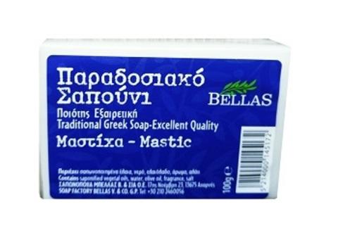 Греческое мыло с мастикой Bellas 100 гр