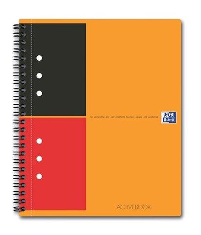 Бизнес-тетрадь International ActiveBook A5+ (17.8*21см) линейка 80л пластиковая обложка