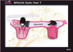 Klein Пояс стилиста BRAUN SATIN HAIR с расческой с подсветкой (5870)