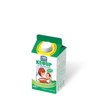Кефир от ФудМастер, 0,5 л