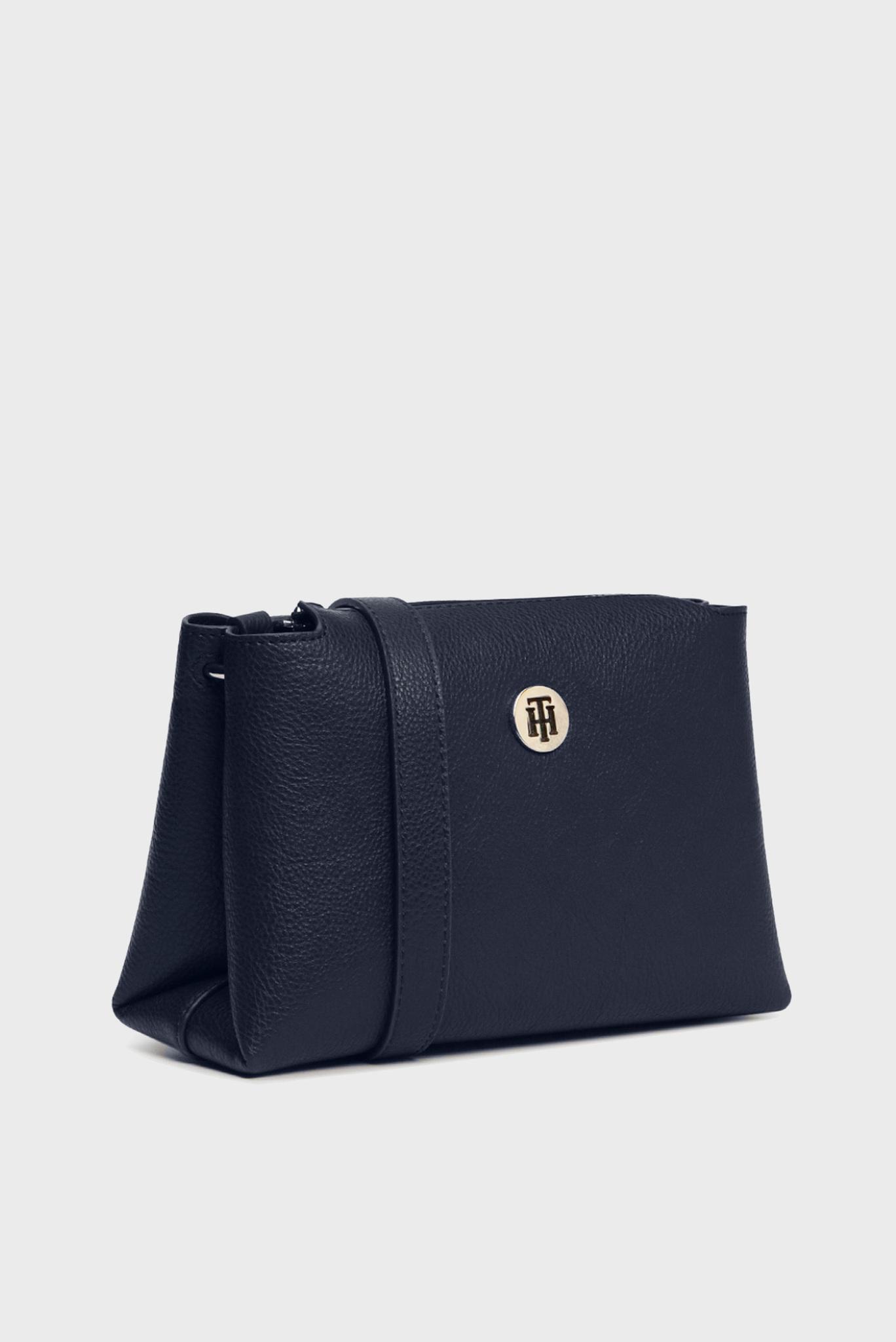 Женская темно-синяя сумка через плечо TH CORE Tommy Hilfiger