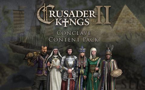 Crusader Kings II: Conclave -Content Pack (для ПК, цифровой ключ)