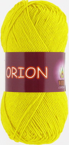 Пряжа Orion Vita cotton 4575 Желтый