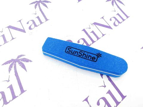 Пилка-баф малый SunShine 100/180 синий, ромб