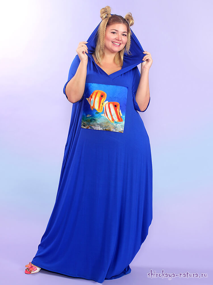 Платье Тропические рыбки