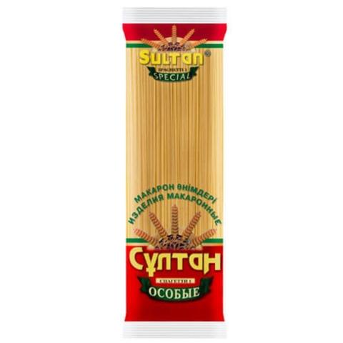 Макароны СУЛТАН Спагетти № 1 400 гр КАЗАХСТАН