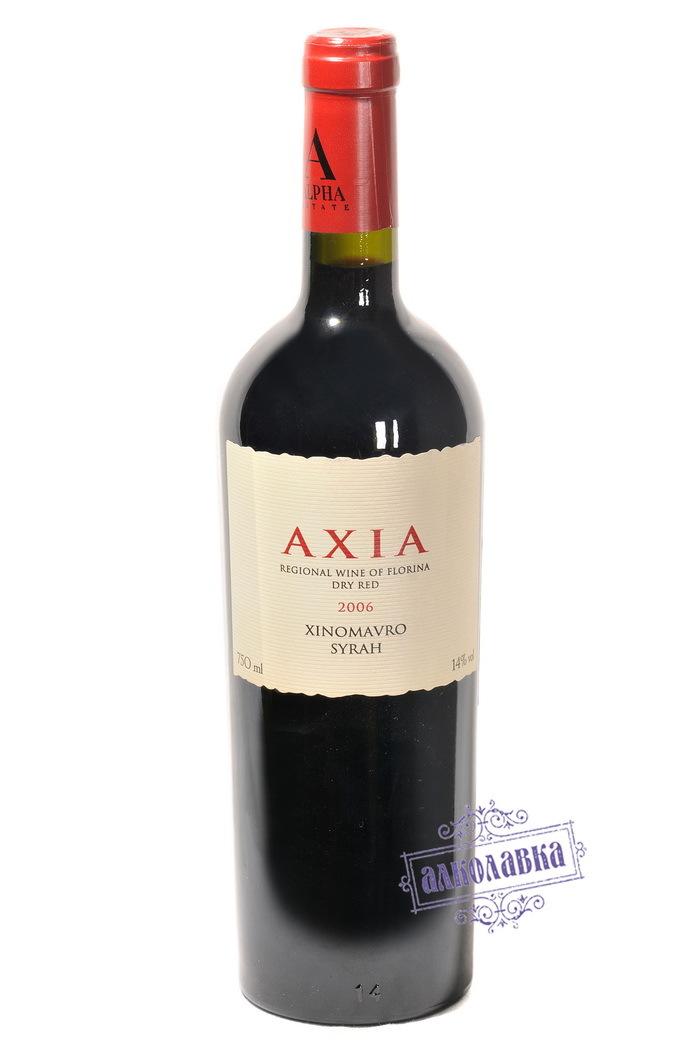 Вино Флорина Аксия красное сухое 0,75 14%