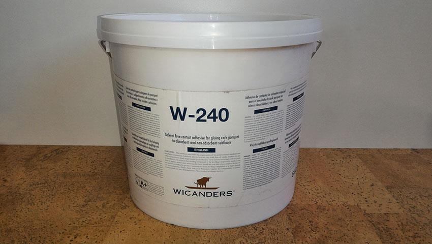 Клей для монтажа пробки W-240 5кг