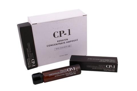 НАБОР Эссенция для волос КОНЦЕНТРИРОВАННАЯ/КЕРАТИН CP-1Keratin Concentrate Ampoule, 10 мл*10 шт ESTHETIC HOUSE